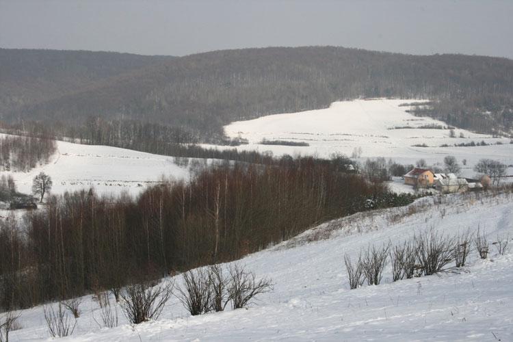 Jastrzębia Zdebrz zimą i jesienią