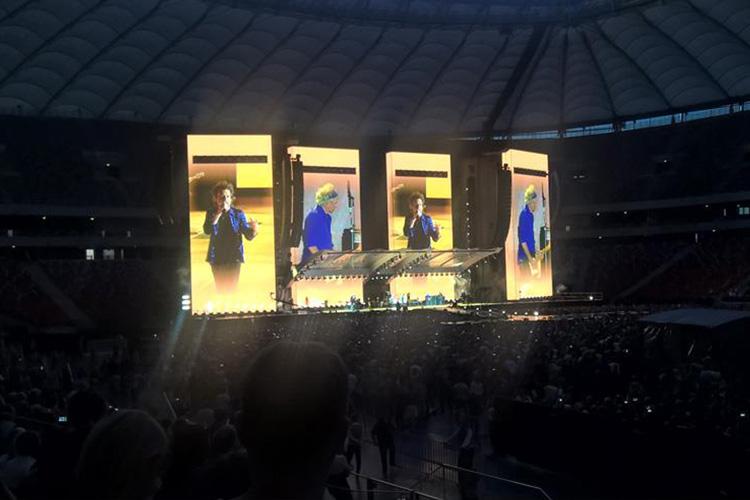 The Rolling Stones w Warszawie