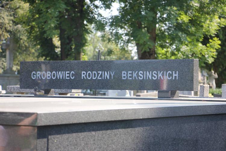 Zdzisław Beksiński i Sanok