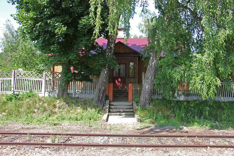 Dawny budynek stacji Susiec