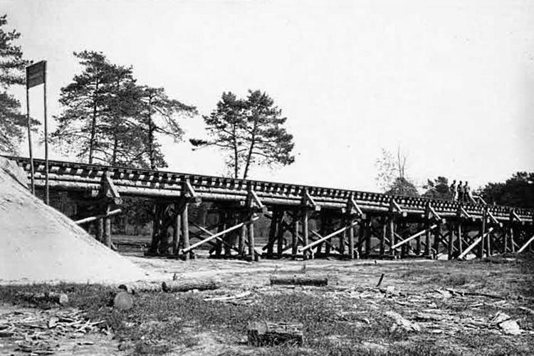 Tropem zdjęcia sprzed 100 lat: most w Suścu