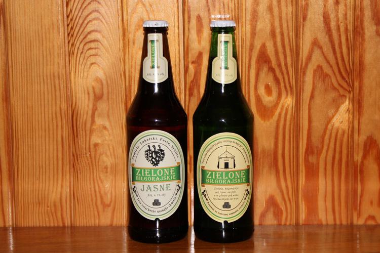 Piwo Zielone biłgorajskie