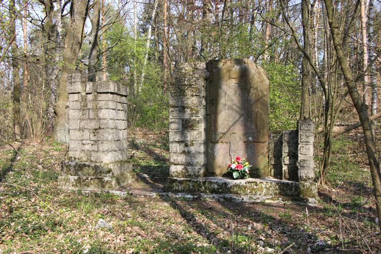 Cmentarz z Szalenika k. Bełżca