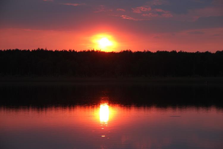 Polesie, jezioro Piaseczno