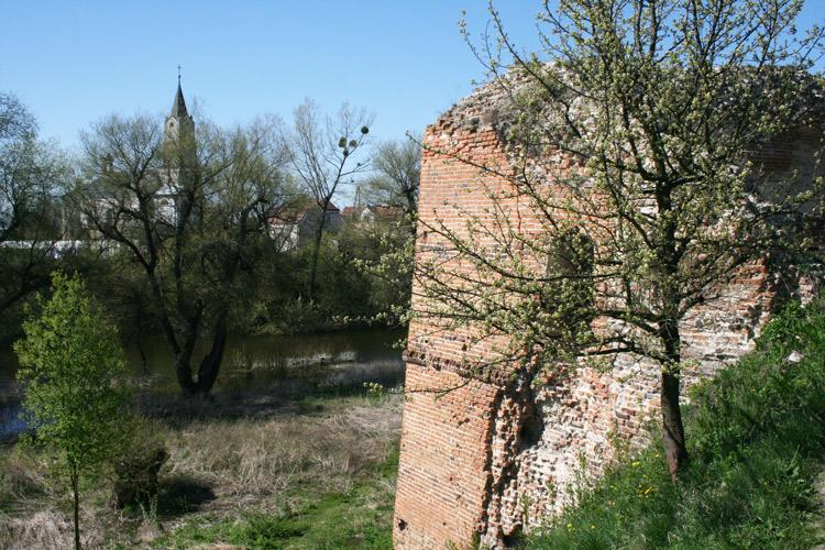 Zamek na wyspie w Kryłowie