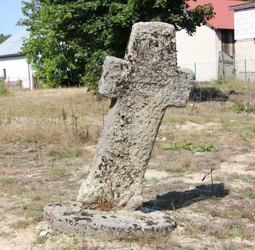 """Krzyż z Bełżca, który """"pije"""" wodę"""