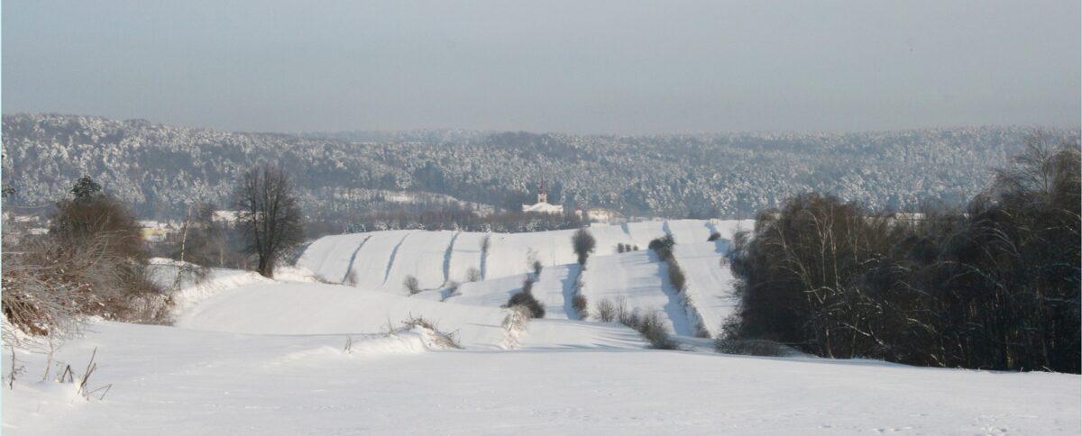 Batorz zimą